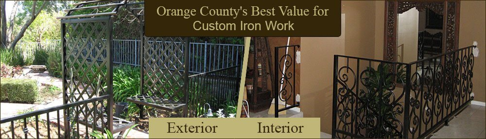 Interior Exterior Railings; Orange County Custom Iron Works ...