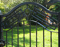 Residential Custom Iron Gates