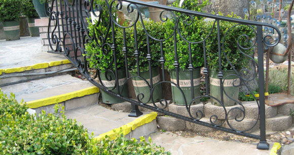 Staircase Railings Decorative Wrought Iron Orange County