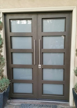 Custom steel door in Santa Ana, CA