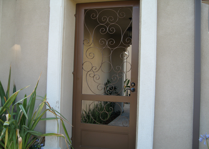Lake Forest Iron Front Entry Door