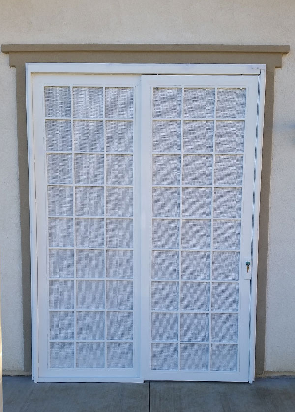 Wrought iron fencing ladera ranch entry doors gates for Door and screen door combo