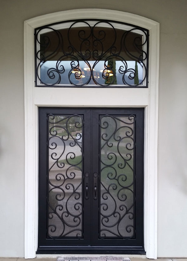 Ornamental Iron Entry Doors