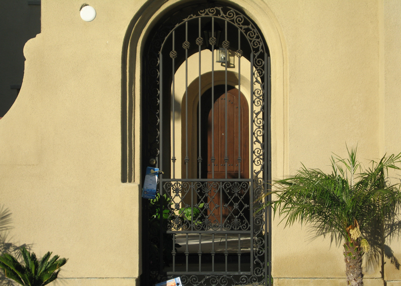 Residential Iron Security Door