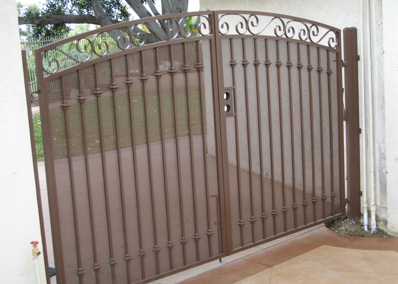 Marquez Iron Works Gallery Ornamental Iron Driveway Gates