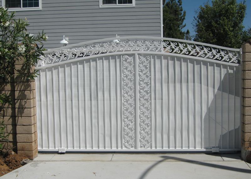 Commercial Ornamental Iron Gates