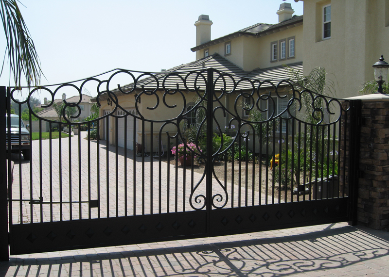Huntington Beach Custom Entry Gate