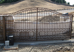 Commercial Driveway Gates Installation