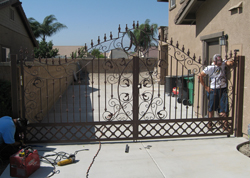 Home Interior Wrought Iron Gate Service