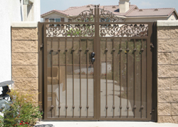 Affordable Wrought Iron Gate Orange County