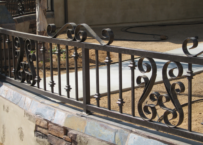 Westminster Iron Fencing Entry Driveway Property Gates