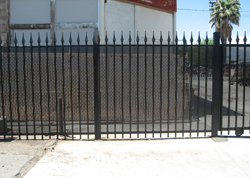 Cast Iron Privacy Fencing Orange County