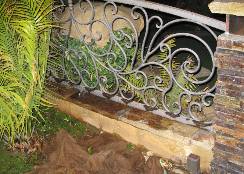 Garden Iron Fence Westminster