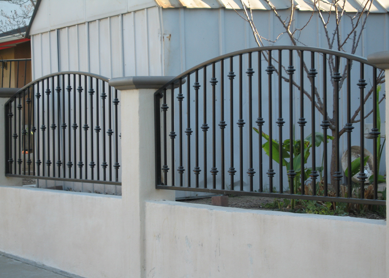 Iron Fence Work Fountain Valley