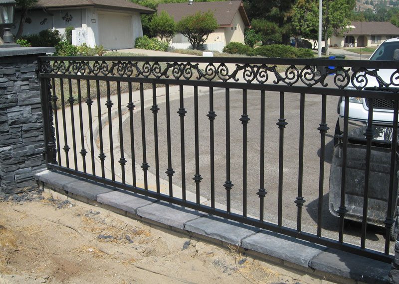 Residential, Commercial Iron Fence