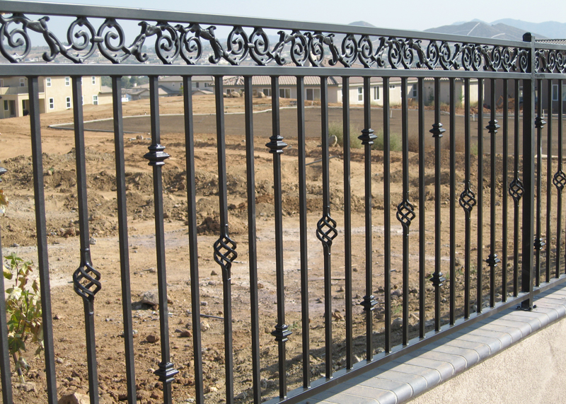 Wrought Iron Fence Mission Viejo