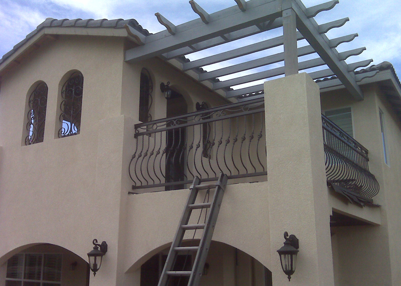 Beautiful Balcony Railings Irvine