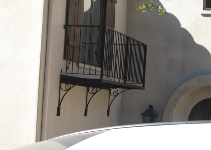 Window Balcony Guard Installation