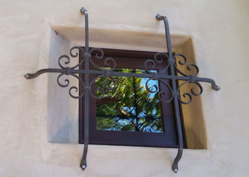 Decorative Window Security Bars