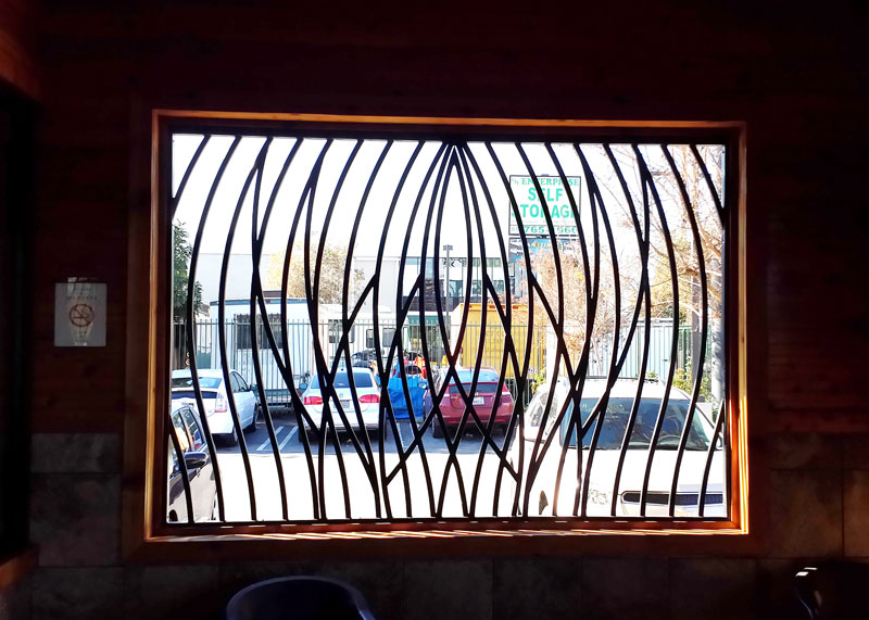 Santa Ana Window Bars Frame