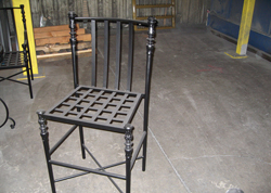 Wrought Iron Chair Frame