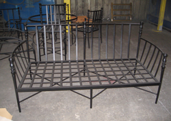 Wrought Iron Sofa Frame