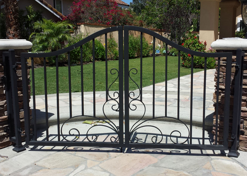 Marquez Iron Works Gallery Wooden And Iron Fence And
