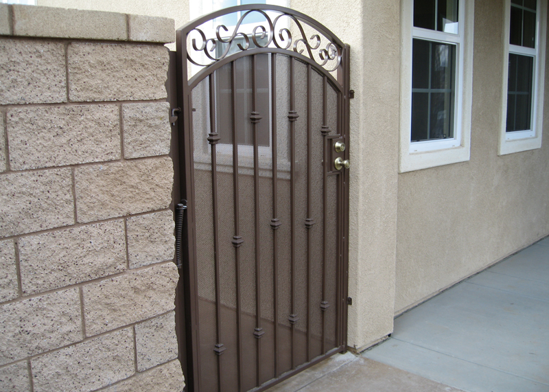 Huntington Beach Iron Security Gates