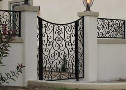 New Iron Gate Installation