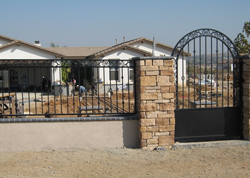 Residential Affordable Pedestrian Gate Installation
