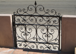Small Pedestrian Iron Gate