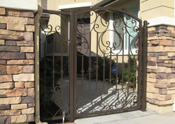 Residential Protective Metal Gate