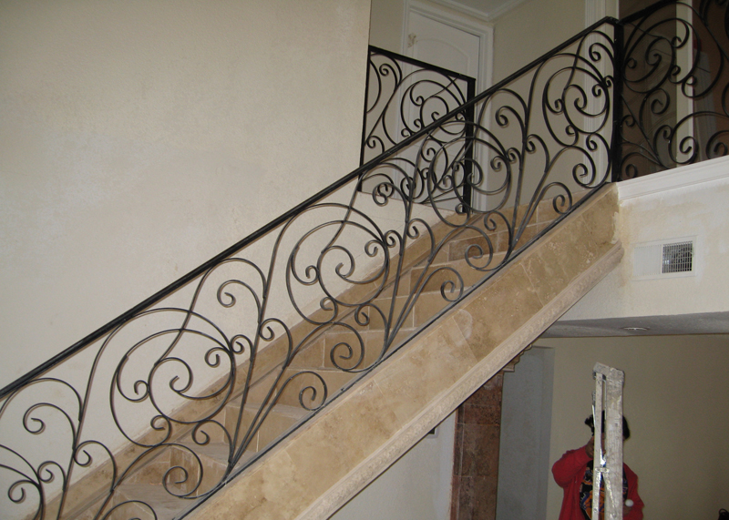Laguna Hills Stair Railings