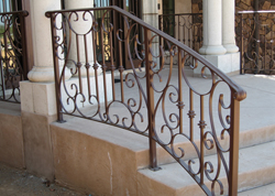 Contemporary Stair Railings Orange County