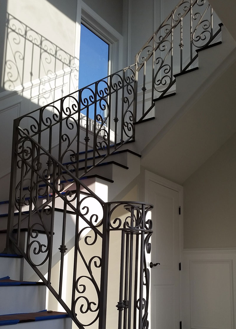 Modern Stair Railing Contractor