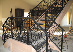 Decorative Staircase Railings Orange County
