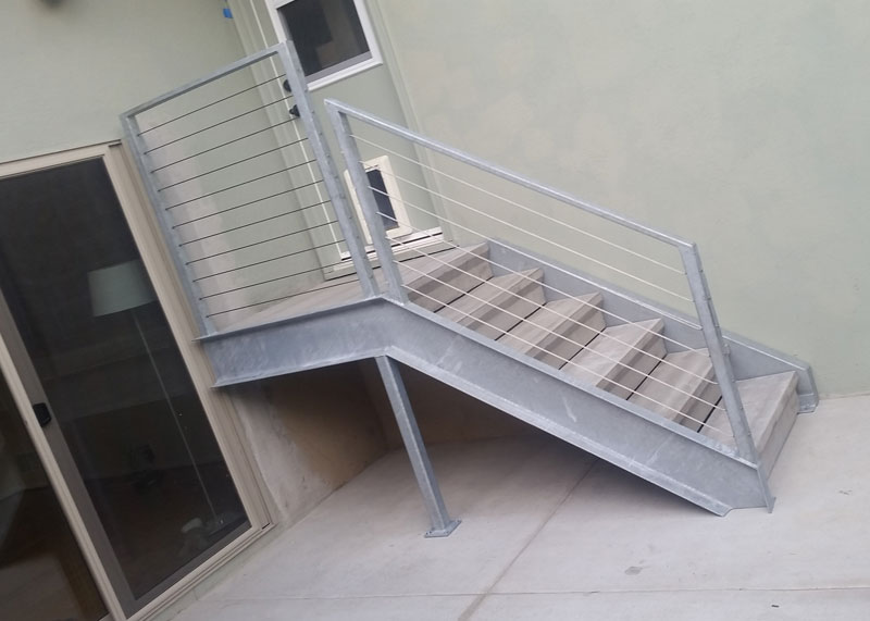 Iron Works Stair Railing