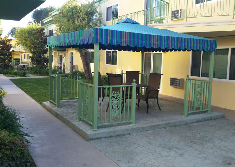 Irvine Outdoor Gazebo Shades