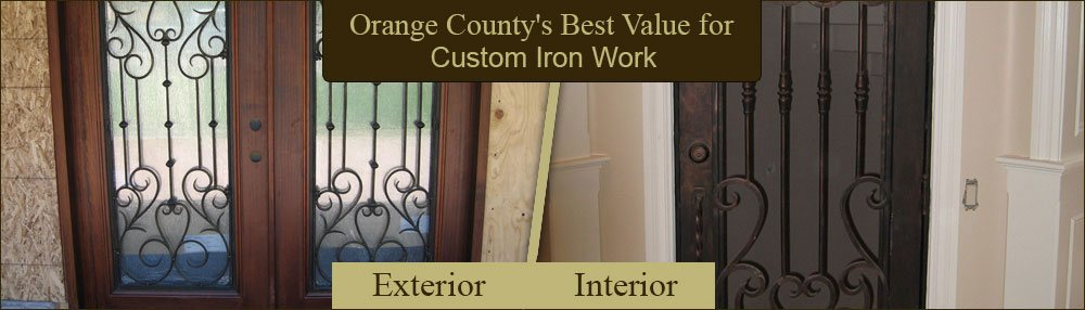 OC Wrought Iron Doors