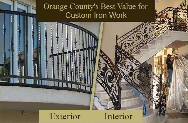 Iron Entry Doors Fences Gates Stair Railings Orange County Ca