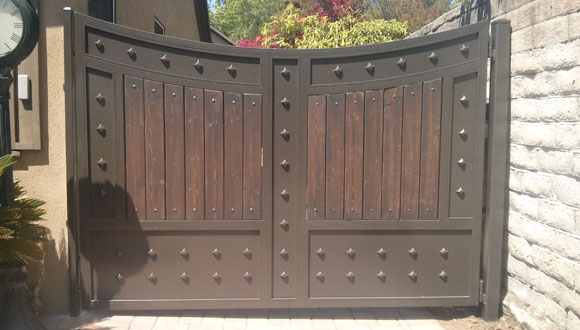 Wrought Iron Gates Orange County Ca Entry Driveway