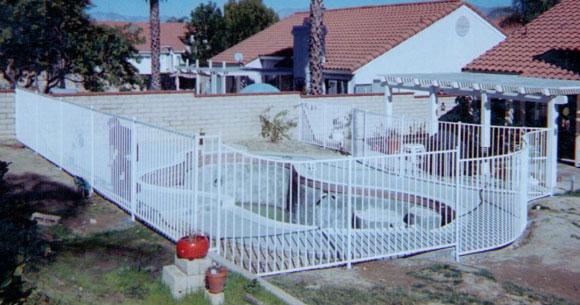 Decorative Wrought Iron Pool Enclosures Orange County Ca Pool Fencing Gates