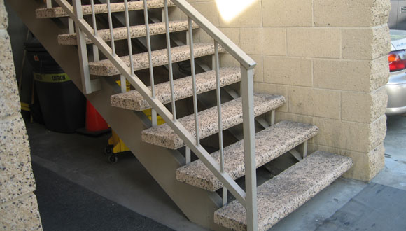 Great Orange County Steel Stair Railings